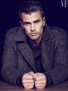 Theo James. Vanity Fair Photoshoot