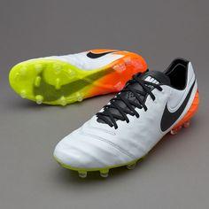 867f85c11 Nike Tiempo Legend VI FG - White Black Total Orange Volt