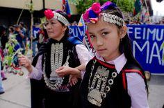 CHILE --Niña Mapuche Francisco Javier Negroni Rodriguez