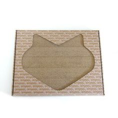 Kittypod Paw Paw Modern Recycled Paper Scratching Board Color: White