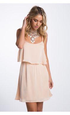 $45.74 Ambrosia Ruffle Dress Apricot - Dresses - Clothing