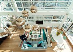 Con vistas a Nueva York - Casas - Decoracion de interiores y mucho más - Elle - ELLE.ES