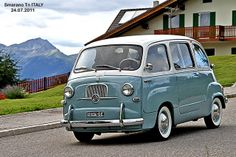 FIAT 600 MULTIPLA. True what my friend sats - you cant tell which is front or back. Love that:)