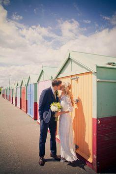 An Original Edwardian Wedding Dress for a 1960s Mod Inspired Brighton Wedding...