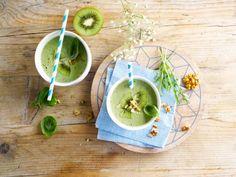 Voyez la vie en vert grâce à ce smoothie à base d'Alpro Soja Original