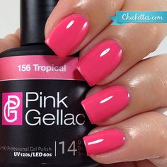 Pink Gellac Tropical at Chickettes.com