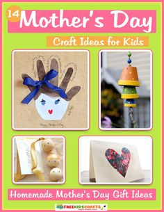 Saving 4 A Sunny Day: Mother's Day Craft Ideas For Kids