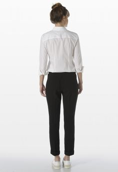 CREPE TROUSERS - Pants - Woman | Stefanel