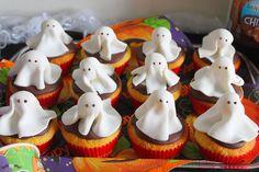 La Tavola Allegra: Ghost Muffins: muffin dolci per Halloween