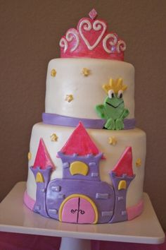Love this for a little girl's birthday cake!