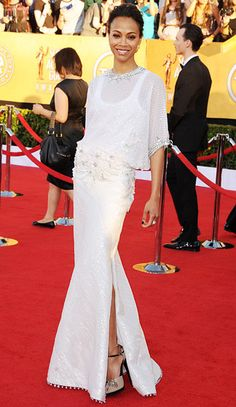 She was one of the ones I liked the least.  The dress was great until you added the sheer top over it.  Not a fan.  D