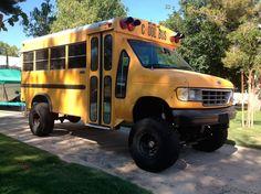 sChOOL bus! Great build idea.