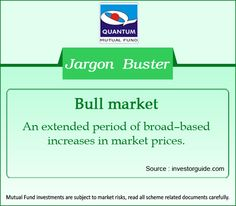 Demystifying the term #BullMarket in the financial context. #JargonBuster