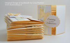 Einladung zur Kommunion/Konfirmation *EMMA* von www.Kartenshop.at auf DaWanda.com