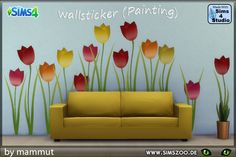 Sticker_Tulpen