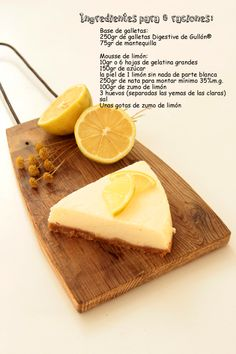 Plans, Butcher Block Cutting Board, Sweet Recipes, Cravings, Cake, Imagines, Spanish, Food, Pastries