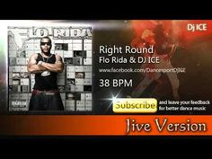Jive - Right Round (38 BPM) Flo Rida, My Music, Dj, Modern, Musica, Trendy Tree