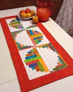 Shop Creative Grids© Trim Tools and Patterns | Jean Ann Quilts - Citrus and Berries Table Runner