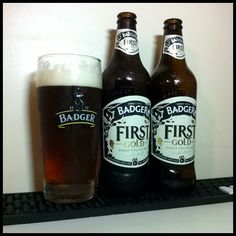 Badger First Gold (Single English Hop) - #beer #bier #birra #cerveza #cervesa #cerveja #beerglass #goodbeer