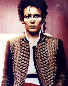 Adam Ant and his unplug the juke box and give yourself a favour.. Ant Music