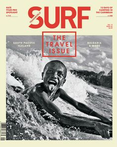 Transworld Surf magazine cover featuring photo by Brad Masters