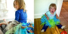 16 Hilarious Pinterest Fails Involving Children - Cute DIY costumes can only be accomplished with some sort of sorcery–it's a fact. Get more hilarious Pinterest fails at redbookmag.com