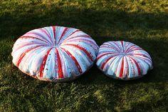 Jelly Roll Floor Pillows « Moda Bake Shop