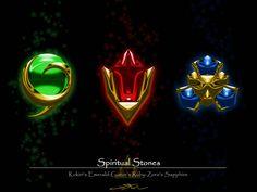 3 Spiritual Stones