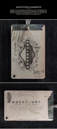 VINTAGE INSPIRED™ Hang Tags on Behance