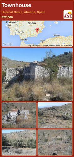 Townhouse in Huercal Overa, Almeria, Spain ►€22,000 #PropertyForSaleInSpain