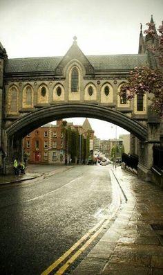 Dublín City. IRLANDA