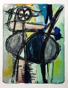 Jan van der Meulen - Kat | Staaldruk 90 x 70 cm € 480,- |   Expositie Jan van der Meulen 80 jaar bij Galerie Bax Kunst. Tachtig schilderijen in de Galerie, Kunstencentrum Atrium & Theater Sneek | www.baxkunst.nl | #art #contemporaryart #dutchartist #expo #Sneek #Baxkunst