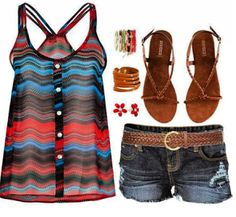 Summer Life = Summer summer outfits clothes style for summer for summer summer waterfalls summer clothes Fashion Moda, Look Fashion, Fashion Outfits, Womens Fashion, Fasion, Fashion Styles, Ladies Fashion, High Fashion, Fashion Ideas