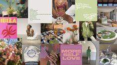 Wallpaper Collage, Cute Laptop Wallpaper, Hippie Wallpaper, Mac Wallpaper, Macbook Wallpaper, Aesthetic Desktop Wallpaper, Computer Wallpaper, Vintage Desktop Wallpapers, Positive Wallpapers