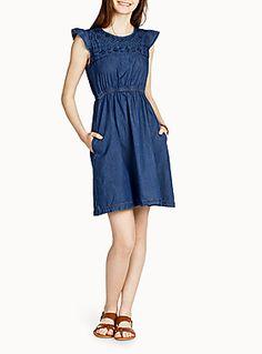 Western panelled dress | Simons
