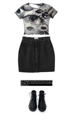 """Untitled #78"" by evamederer on Polyvore featuring Monki"