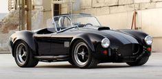 A classic 427 Shelby Cobra powered by a Tesla electric motor & Kia Soul EV battery pack