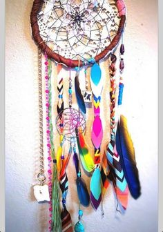 Rainbow warrior dreamcatcher