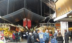 I think this is the market in Barcelona I went to. Mercat Boqueria.