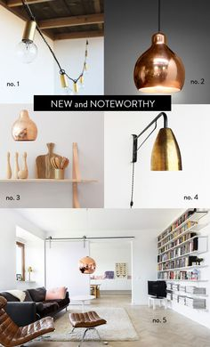 new and noteworthy: heavy metal lamps. / sfgirlbybay