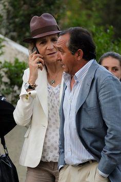 "Princess Elena attended the ""Longines Global Champions Tour"" Club de Campo Villa Madrid."