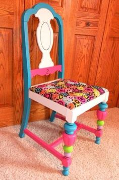 The Vintage Twist Company -- love this little chair