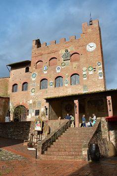 Palazzo Pretorio a Certaldo Alto #valdelsa #florence #tuscany