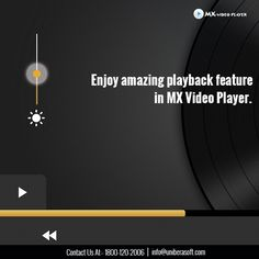 Enjoy amazing playback feature in MX Video Player.  #VideoPlayer #MXvideoplayer #HDvideoplayer