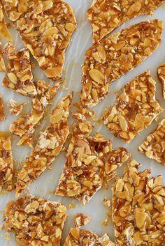 How to Make Praline - Gemma's Bigger Bolder Baking Brittle Recipes, Nut Recipes, Candy Recipes, Sweet Recipes, Baking Recipes, Praline Recipe, Toffee Recipe, Cake Pops, Macarons