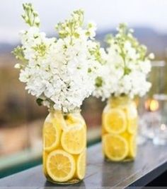 I love lemons as decoration.