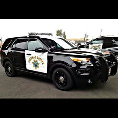 California Highway Patrol Ford Explorer Interceptor Utility