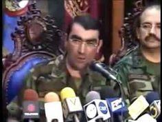 Renuncia de Chávez anunciada a Venezuela y al mundo por el Gral. Lucas Rincón Romero 12/04/2002 - YouTube