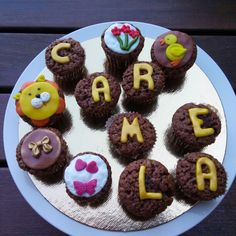 Choco minicupcakes