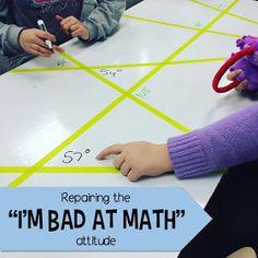 "Middle School Math Man: Repairing the ""I'm Bad at Math"" Attitude"